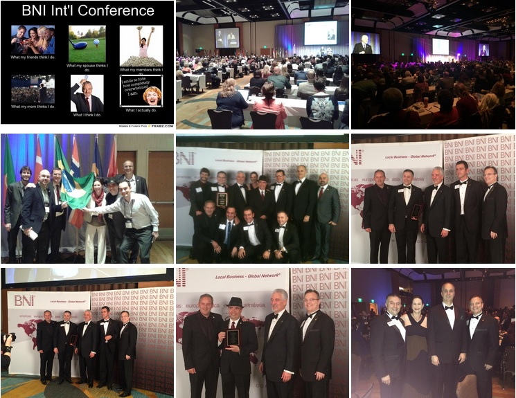 BNI Brasil participa da Conferência Internacional 2014