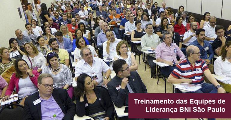 Confira como foi o Treinamento das Equipes de Liderança dos Grupos BNI São Paulo