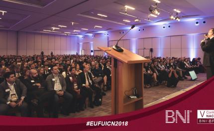 Confira o sucesso da V Conferência Nacional BNI Brasil 2018