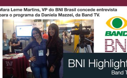 #TBT Mara Leme Martins, VP do BNI Brasil na Feira do empreendedor.