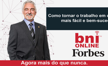 Fundador do BNI, Dr. Ivan Misner, concede entrevista para a revista Forbes