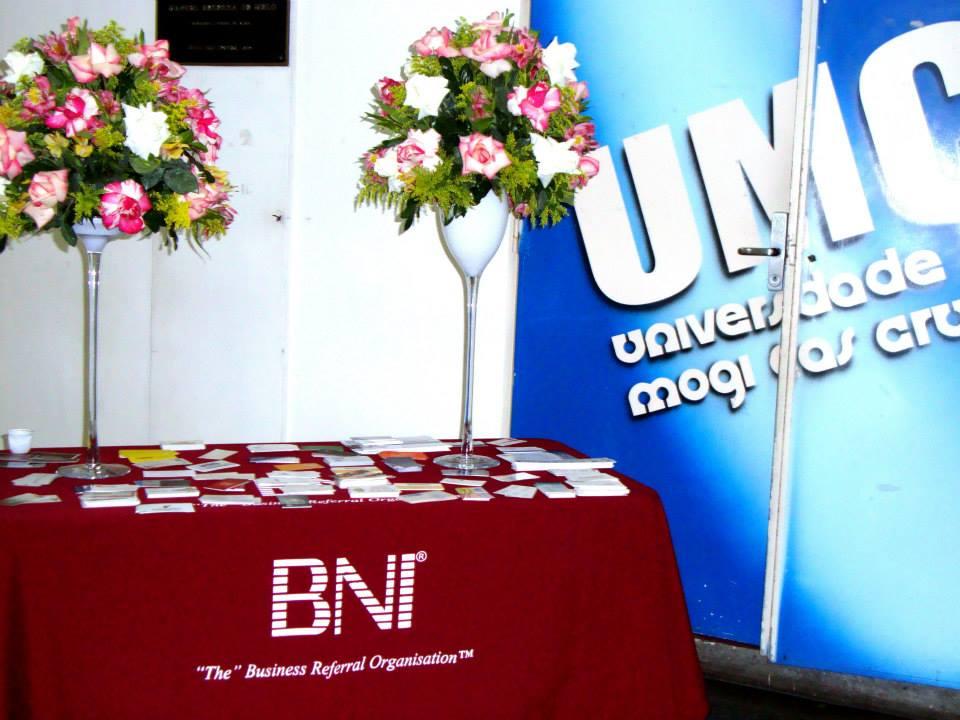 Parceria BNI Alto Tietê e UMC – Palestrante Marcelo Pinto