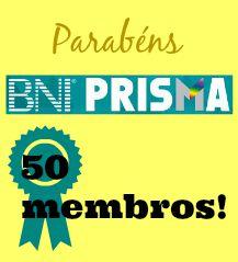 BNI Prisma, Regional Alto Tietê, conquista o posto de maior grupo do BNI Brasil com 50 membros
