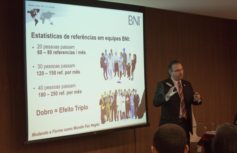 Evento de lançamento da BNI Ribeirão Preto/SP. Data: 29/07/2015. Foto: Renato Lopes.