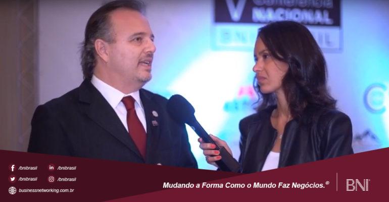 Entrevista com Marcos Ribeiro Martins – CEO BNI Brasil | V Conferência Nacional BNI Brasil 2018