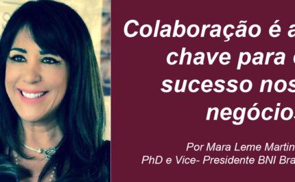 Colaboração é a chave para o sucesso nos negócios – por Mara Leme Martins, Vice-Presidente BNI Brasil