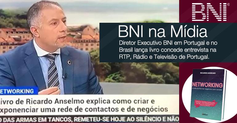 Diretor Executivo BNI concede entrevista na RTP, Rádio e Televisão de Portugal