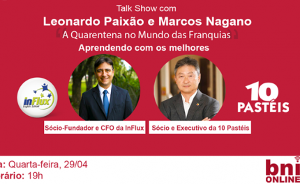 Leonardo Paixão, Marcos Nagano & BNI Brasil – 29/04