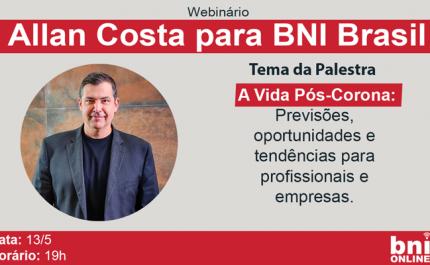 Allan Costa & BNI Brasil 13/05