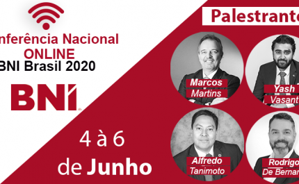 Conferência Nacional Online BNI Brasil 2020 | BNI bate recorde de participantes