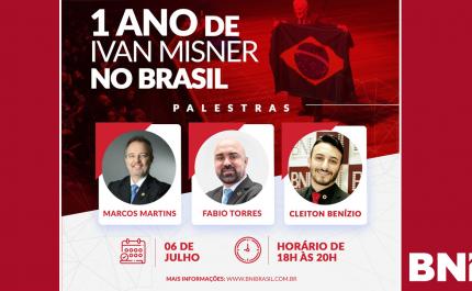 Evento | Um Ano de Ivan Misner no Brasil