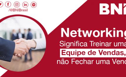 Networking Significa Treinar uma Equipe de Vendas
