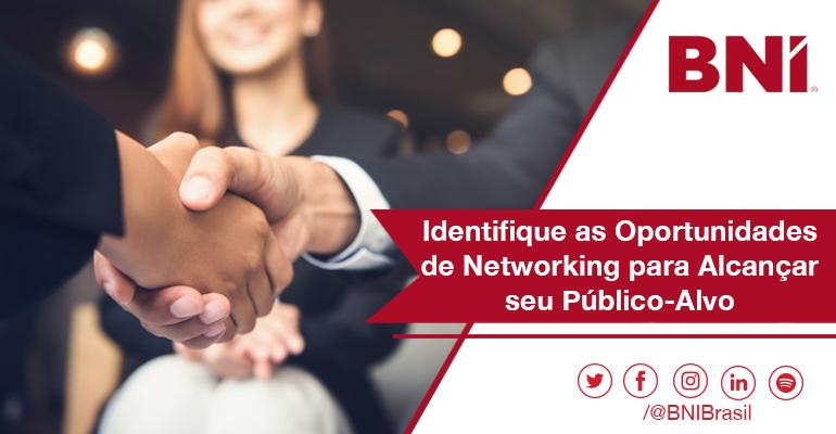 Identifique as Oportunidades de Networking para Alcançar seu Público