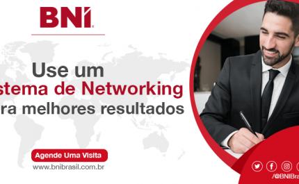 Use um Sistema de Networking para Melhores Resultados