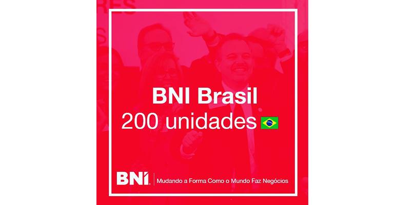 BNI Brasil completa 200 unidades em Dezembro de 2020