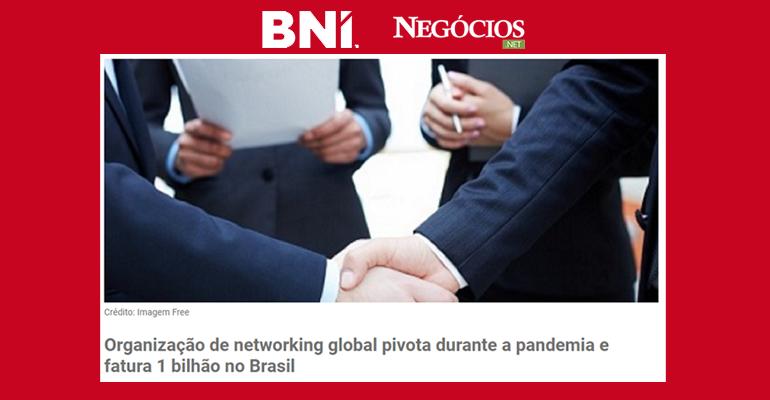 BNI pivota na pandemia e fatura R$ 1 bilhão de reais em negócios fechados