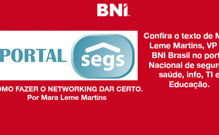 Mara Leme Martins, VP do BNI Brasil no Portal Nacional de Seguros.
