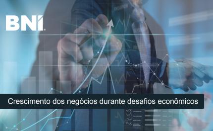 Crescimento dos negócios durante desafios econômicos